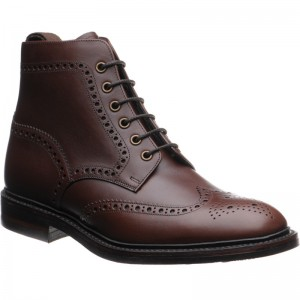 Burgh rubber-soled brogue boot