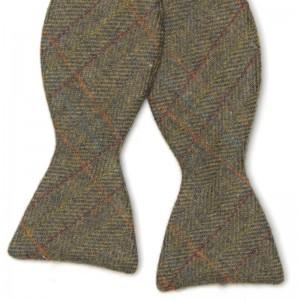 Herring Tweed Bow Tie