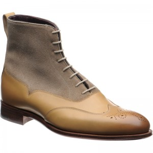 Moriarty two-tone brogue boot