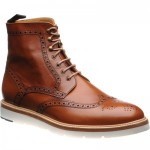 Herring Jeremy two-tone brogue boot