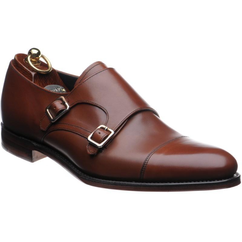 Herring Luscombe double monk shoe
