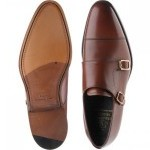 Herring Luscombe double monk shoe