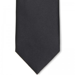 Herring Plain Black Tie