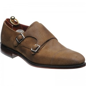 Herring Hailes double monk shoe