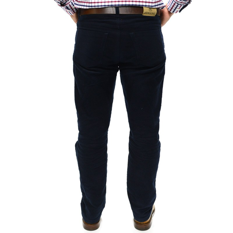 midnight herring The herring carrera jeans are made using a five pocket jeans pattern the material is a medium weight 100% cotton carrera, making them feel like a chino.