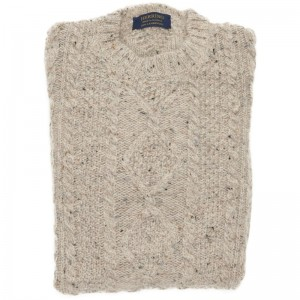 Herring British Wool Grown on Neck Jumper