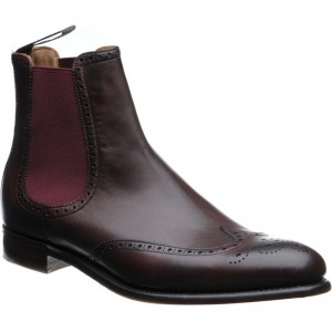 Thatcher brogue Chelsea boots
