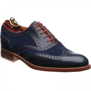Hathaway two-tone brogue