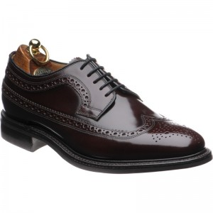 Herring Northfields rubber-soled brogue