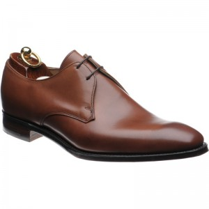 Herring Baldwin II Derby shoe in Conker Calf