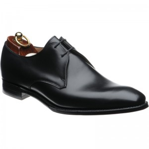 Herring Baldwin II Derby shoe in Black Calf