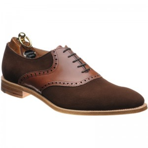 Plough Suede and Conker Calf