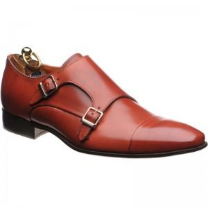 Herring Ferrara double monk shoe
