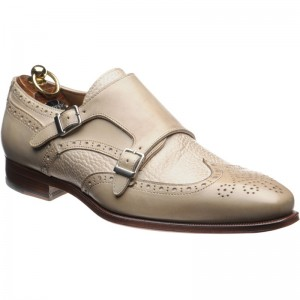 Herring Novara double monk shoe
