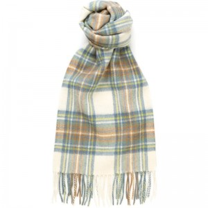 Blue Dress Stewart Tartan Scarf