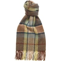 Herring Frame Check Scarf