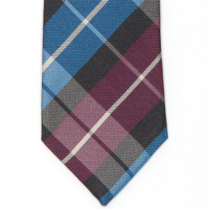 Medium Woven Check Tie (5003 600)