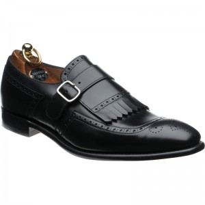 Herring Montpellier in Black calf