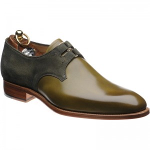 Bilbao two-tone Derby shoe