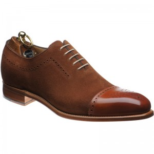 Chestnut Calf and Suede
