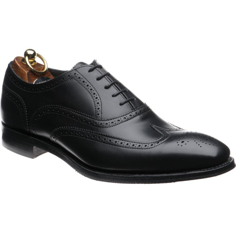 Herring Gladstone II rubber-soled brogue