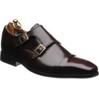 Herring Bristol double monk shoe