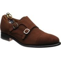 Shaw double monk shoe