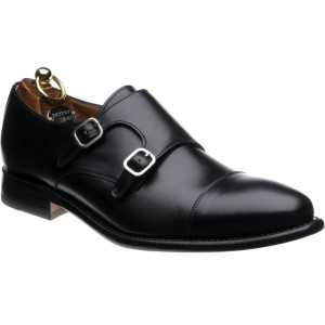Herring Shaw double monk shoe