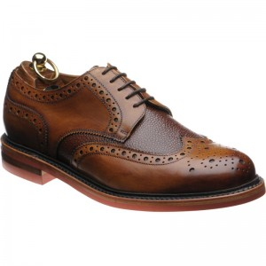 Herring Redbourne two-tone brogues