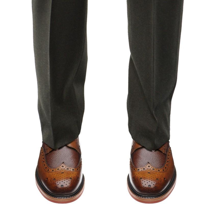 Herring Shoes Herring Classic Redbourne Two Tone