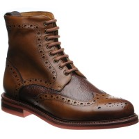 Redgrave two-tone brogue boots