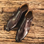 Herring Orwell double monk shoe