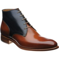 Stirrup two-tone boot