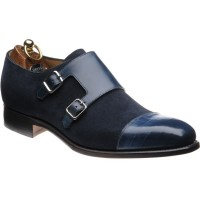 Florence two-tone double monk shoe