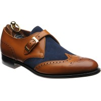 Herring Farleigh two-tone monk shoes