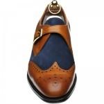 Herring Farleigh two-tone monk shoe