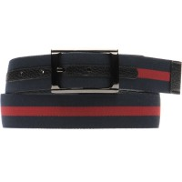 Navy Red Fabric Reversible