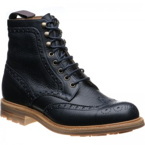 Herring Fineshade rubber-soled brogue boots