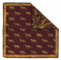Reversible Pocket Square Fox (702 21)