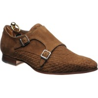 Sicily double monk shoe