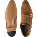 Sicily double monk shoe