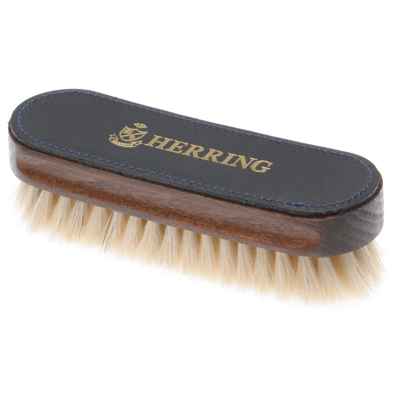 Luxury Leather Top Brush