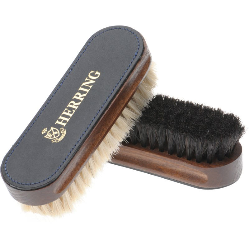 Luxury Leather Top Brush Twin Pack