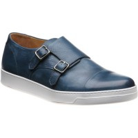 Derby double monk shoe