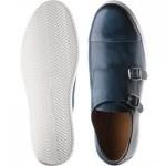 Derby double monk shoe