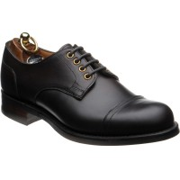 Herring Burghley Derby shoes in Brown Waxy