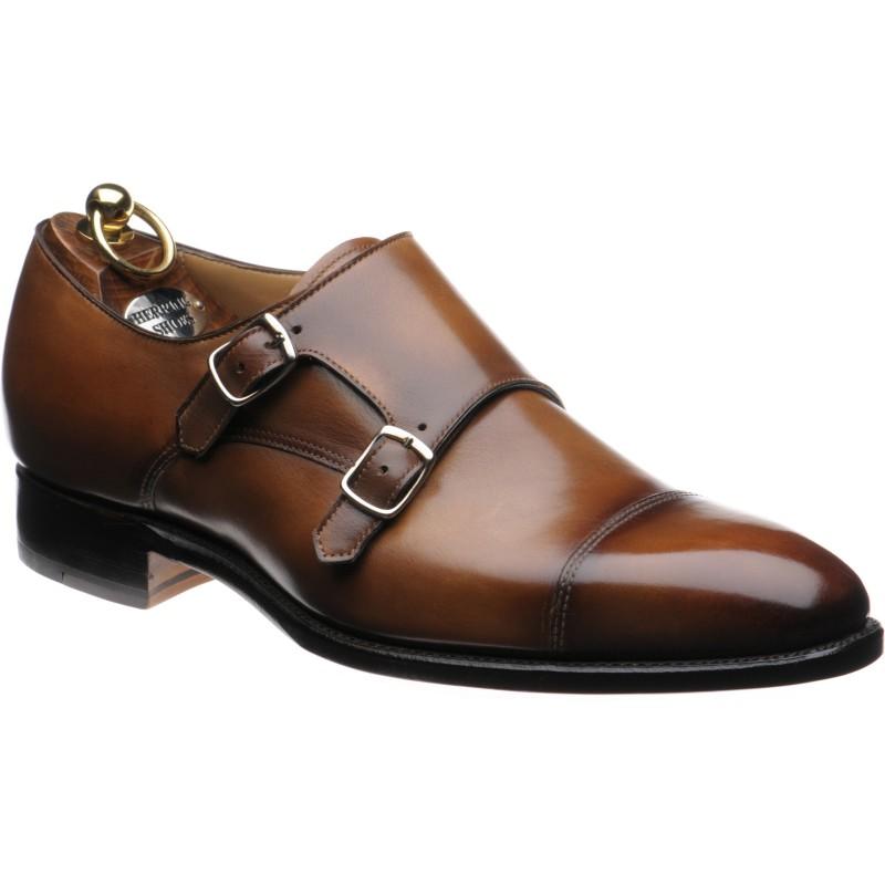 Herring Hardy double monk shoe