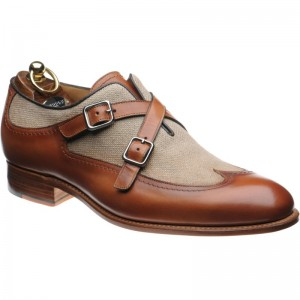 Herring Grandola two-tone double monk shoes