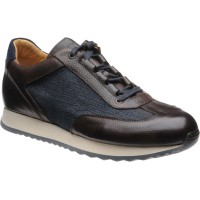 Herring Pembury two-tone trainer
