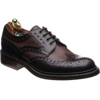 Herring Cliburn two-tone rubber-soled brogues
